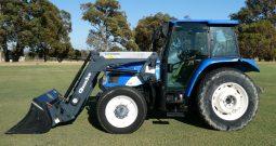 New Holland TL80A & Quicke Q35 loader