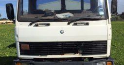 Mercedes Benz 1517 truck with Marshall Multispread 980TM spreader